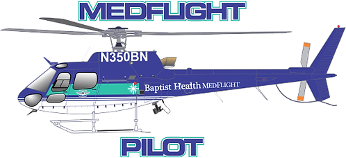 AS350#006 - ARKANSAS - BAPTIST MEDFLIGHT