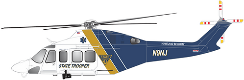 AW139#005 NEW JERSEY STATE TROOPER