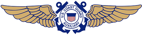 CGAUX#003 COAST GUARD AUXILIARY WINGS