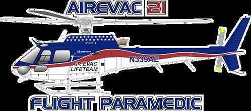 AS350#045 - OKLAHOMA - AIR EVAC 21