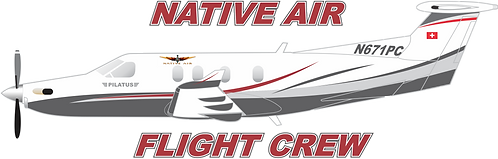 PC12#009 NATIVE AIR