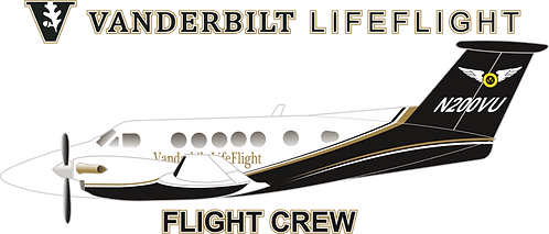 BC#010 TENNESSEE - VANDERBILT LIFE FLIGHT