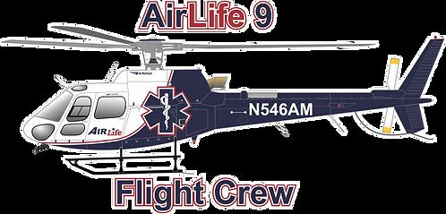 AS350#027 - GEORGIA - AIRLIFE 9