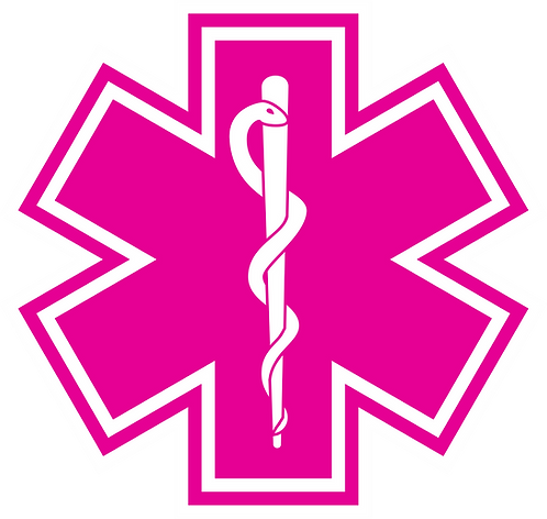 SOL#008 ROD OF ASCLEPIUS PINK