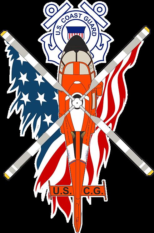 PATRIOT#012 US COAST GUARD H-65 A/B