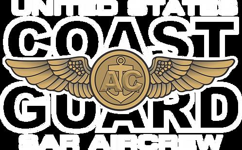 CGWING#005 COAST GUARD AIRCREW DECAL