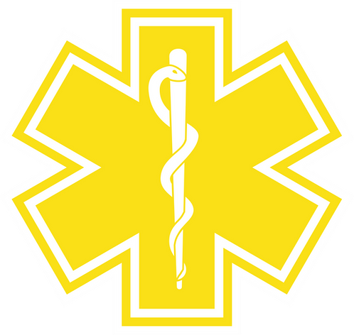 SOL#004 ROD OF ASCLEPIUS YELLOW