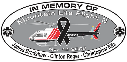 Memorial HEMS MOUNTAIN LIFE FLIGHT NOV 14 2009