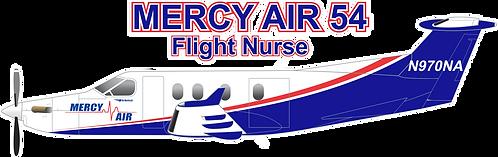 PC12#016 CALIFORNIA - MERCY AIR 54