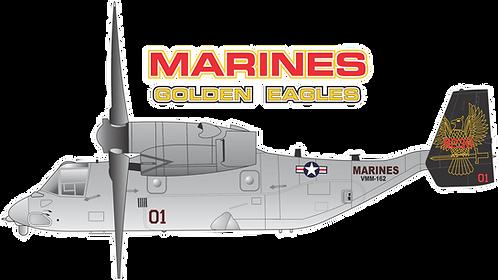 USMC#002 MV22B - VMM-162