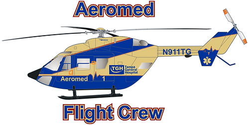 BK117#009 FLORIDA - AEROMED