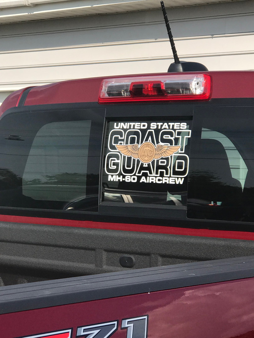 Heligraphx Custom Coast Guard Decal