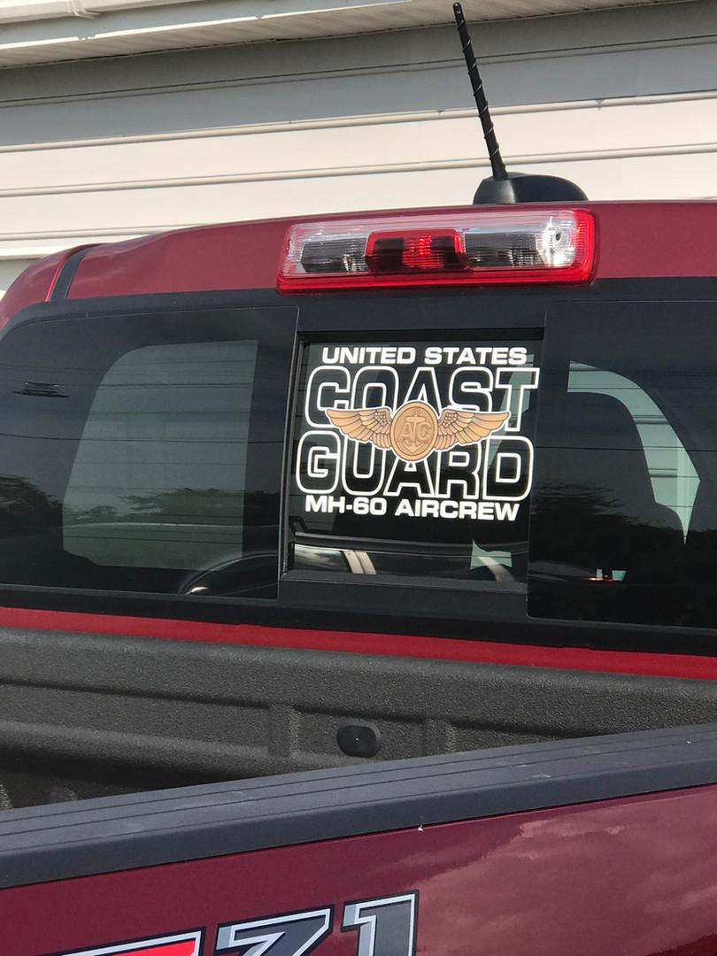 Heligraphx Custom Coast Guard Decal