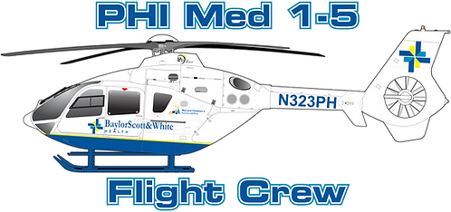 EC135#127 TEXAS PHI MED 1-5