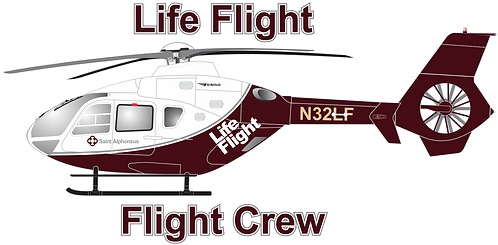 EC135#036 OREGON - LIFE FLIGHT