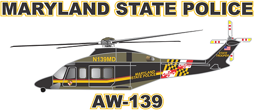 AW139#004 MARYLAND STATE POLICE