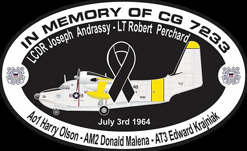 Memorial CG-7223 CGAS ANNETTE
