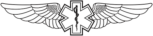 WG#001 S1 WINGS ROD OF ASCLEPIUS
