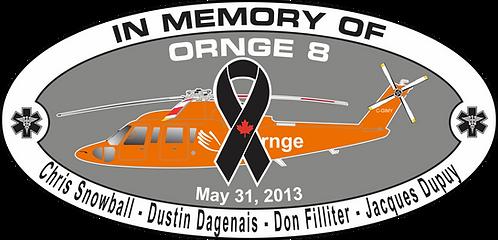 Memorial ORNGE 8 MAY 31 2013