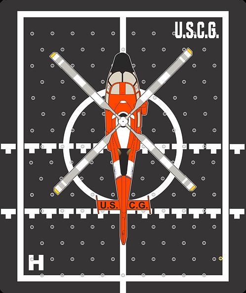 HP#11 FLIGHT DECK USCG MH65