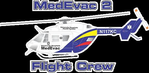 BK-117#040 OH MEDEVAC 2