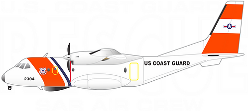 CG#032 HC-144 RESCUE