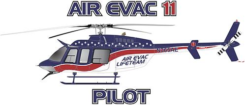 B407#091 - TEXAS - AIR EVAC 11