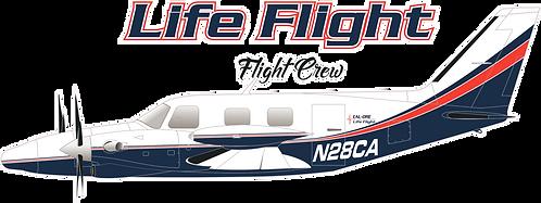 PIPER#001 OREGON - LIFE FLIGHT