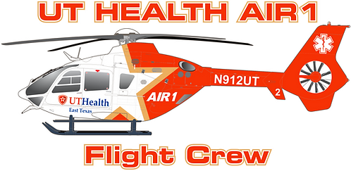 EC135#134 TEXAS - UT HEALTH AIR 1