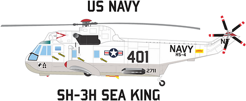 NAVY#004 SH-3 SEA KING HS-4