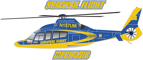 EC155#002 MICHIGAN - SURVIVAL FLIGHT