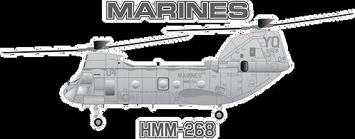 USMC#008 CH-46E - HMM-268
