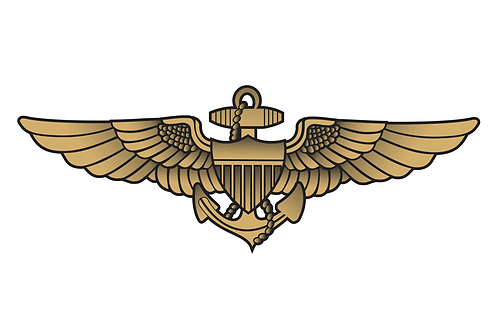CGWING#004 COAST GUARD AVIATOR DECAL