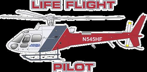 AS350#134- ALABAMA - HAYNES LIFE FLIGHT N545HF