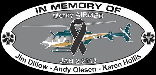 Memorial HEMS MERCY AIRMED JAN 2 2013