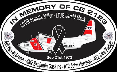 Memorial CG-2123 CGAS CORPUS CHRISTI