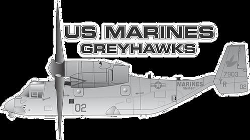 USMC#003 MV22B - VMM-161