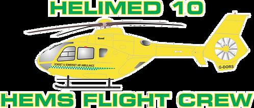 H135#202 UNITED KINGDOM HELIMED 10