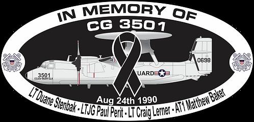 Memorial CG-3501 CGAS ST. AUGUSTINE