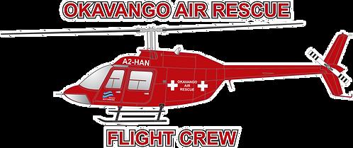 B206#040 BOTSWANA - OKAVANGO AIR RESCUE