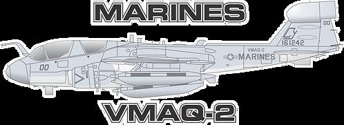 USMC#004 EA-6B VMAQ-2