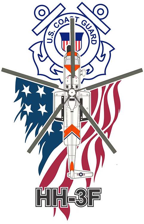 PATRIOT#015 US COAST GUARD HH-3F