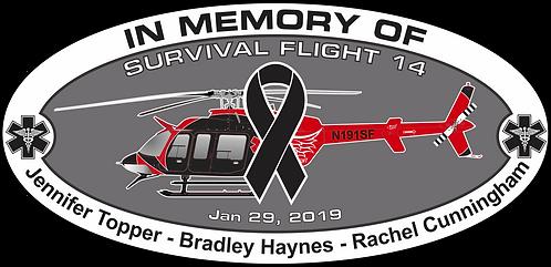 Memorial HEMS Survival Flight Jan 29 2019