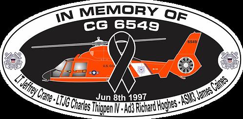 Memorial CG-6549 CGAS HUMBOLDT BAY