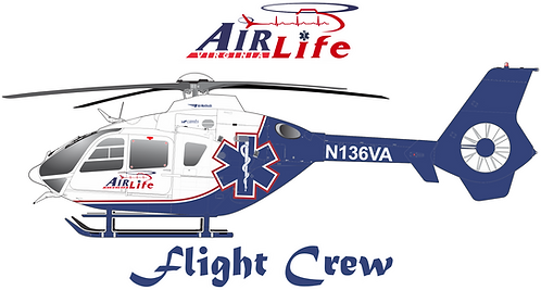 EC135#126 VIRGINIA - AIR LIFE VIRGINIA