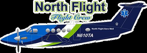 BC#001 NORTH FLIGHT AEROMED-N610TA