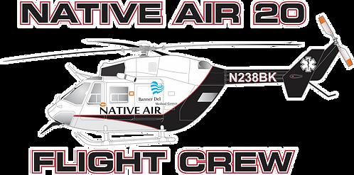 BK117#002 ARIZONA -NATIVE AIR 20