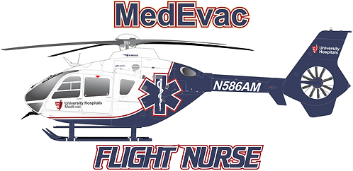 EC135#124 OHIO UNIVERSITY HOSPITALS MEDEVAC