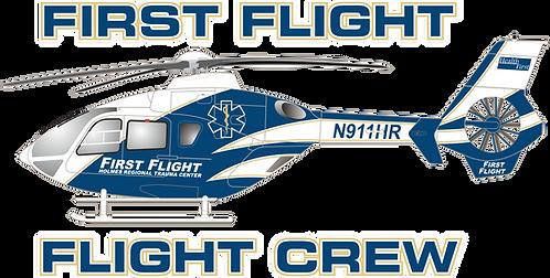 EC135#096 FLORIDA - FIRST FLIGHT
