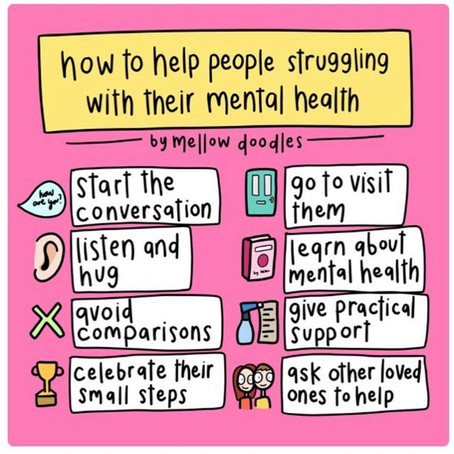 How to help people with their mental health